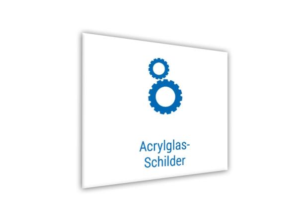 Acrylglas-Schilder