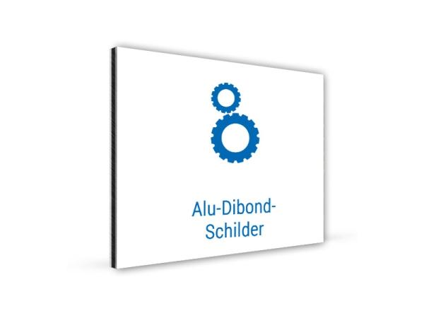 Alu-Dibond-Schilder