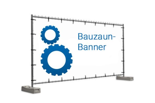 Bauzaun-Banner