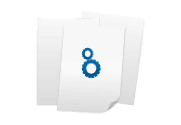 Briefpapier Din A4 4/0-farbig 90g