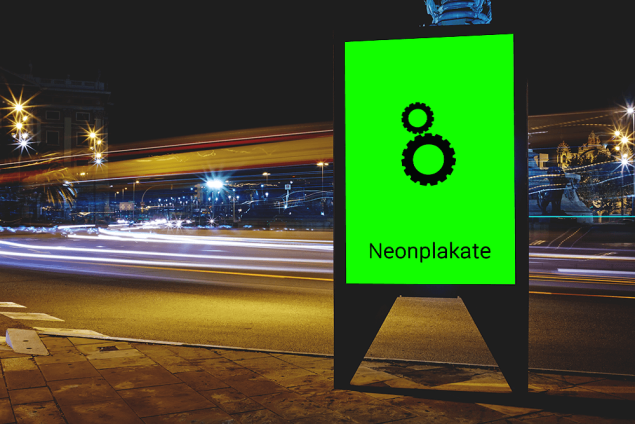 Plakate Din A0 80g Neon